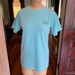Comfort Colors Tops - Comfort Colors Auburn Sorority T-shirt Small EUC
